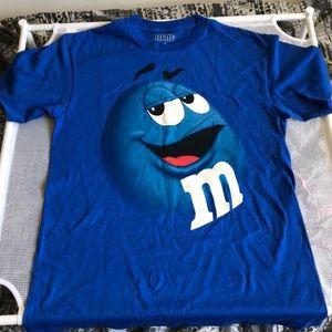 M&M's Shirt Blue M&M